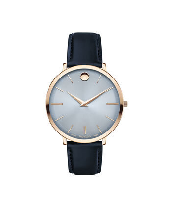MOVADO Movado Ultra Slim0607402 – 35mm Ultra Slim on Strap - Front view