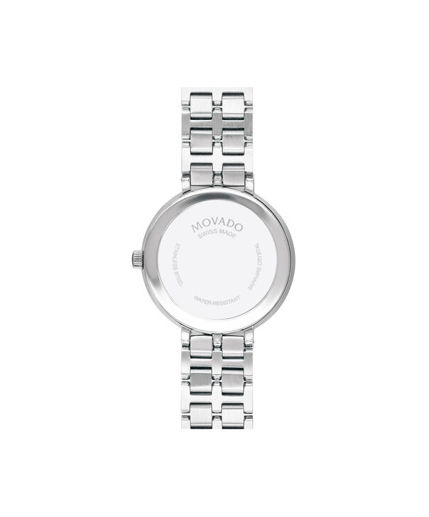 MOVADO Kora0607322 – 28mm Kora Bracelet - Back view