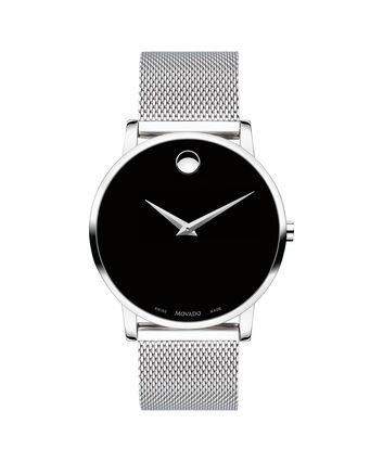 MOVADO Museum Classic0607219 – Men's 40 mm bracelet watch - Front view