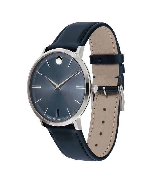 MOVADO Movado Ultra Slim0607400 – Movado Ultra Slim 40 mm , bracelet souple - Side view