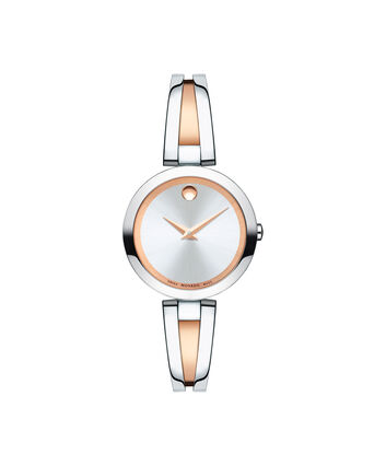 MOVADO Aleena0607151 – Montre à bracelet-jonc de 27 mm pour femmes - Front view