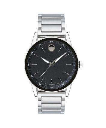 MOVADO Museum Sport0607225 – Montre-bracelet à cadran de 43 mm pour hommes - Front view