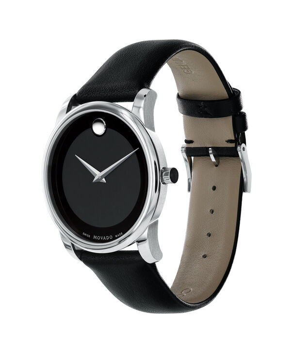 MOVADO Museum Classic0606502 – Men's 40 mm strap watch - Side view