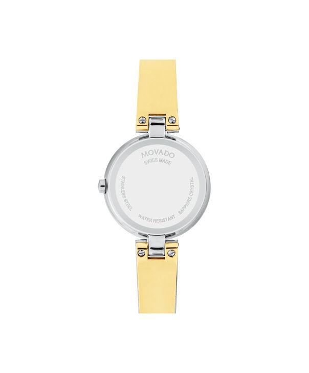 MOVADO Aleena0607150 – Montre à bracelet-jonc de 27 mm pour femmes - Back view
