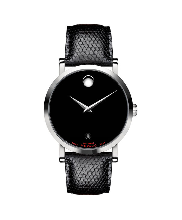 MOVADO Red Label0606114 – Men's 38 mm automatic strap watch - Front view