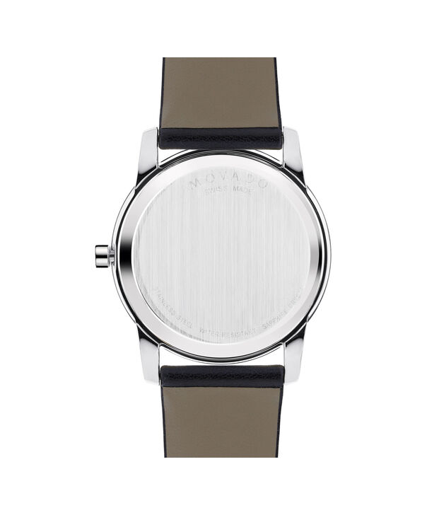 MOVADO Museum Classic0606502 – Men's 40 mm strap watch - Back view