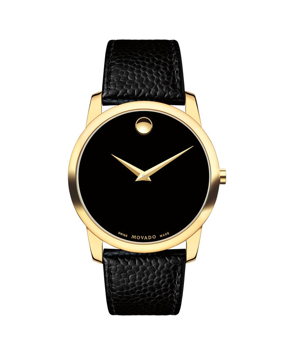 MOVADO Museum Classic0607014 – Men's 40 mm strap watch - Front view