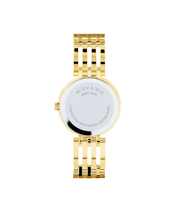 MOVADO Esperanza0607054 – Women's 28 mm bracelet watch - Back view