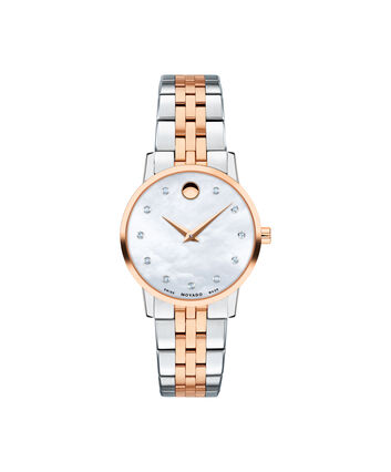 MOVADO Museum Classic0607209 – Women's 28 mm bracelet watch - Front view