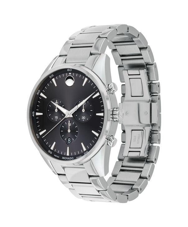 MOVADO Stratus0607247 – Men's 42 mm bracelet chronograph - Side view