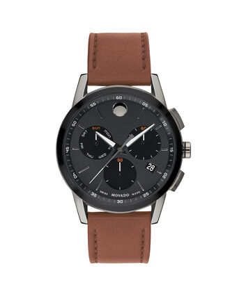 MOVADO Museum Sport0607290 – Men's 43 mm strap watch - Front view