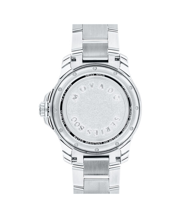 MOVADO Series 8002600136 – Montre-bracelet à cadran de 40 mm pour hommes - Back view