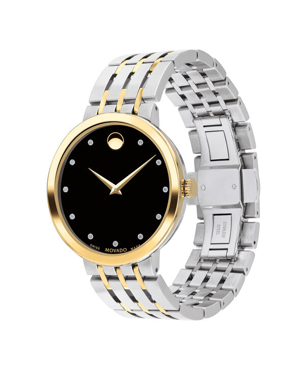 MOVADO Esperanza0607191 – Men's 39 mm bracelet watch - Side view