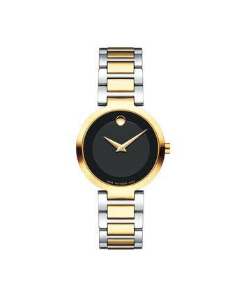 MOVADO Modern Classic0607102 – Montre-bracelet à cadran de 28 mm pour femmes - Front view