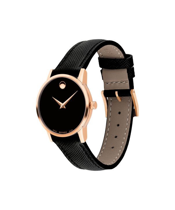 MOVADO Museum Classic0607206 – Women's 28 mm strap watch - Side view