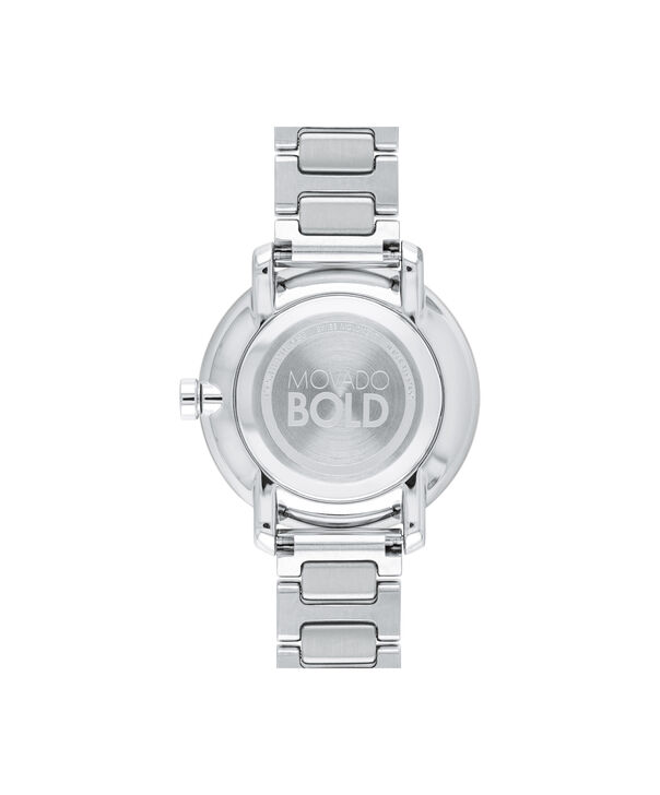 MOVADO Movado BOLD3600501 – Montre de 34 mm avec bracelet en métal - Back view