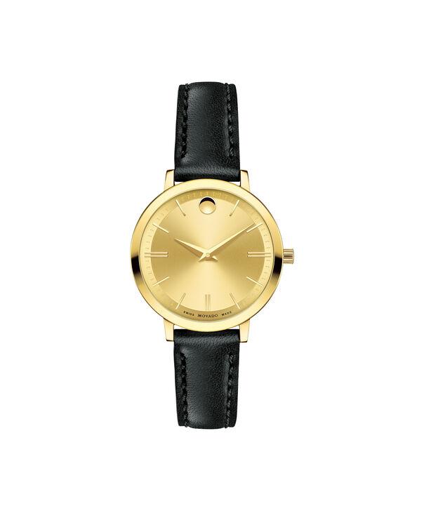 MOVADO Movado Ultra Slim0607158 – Montre de 28 à bracelet souple pour femmes - Front view