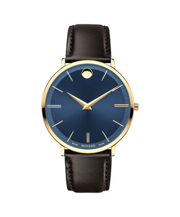 MOVADO Movado Ultra Slim0607088 – Men's 40 mm strap watch - Front view