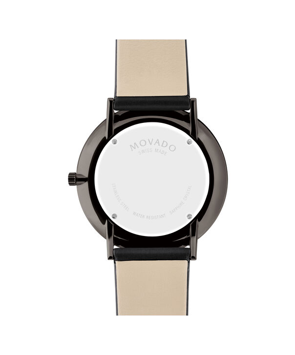 MOVADO Modern 470607391 – 40mm Modern 47 on Strap - Back view