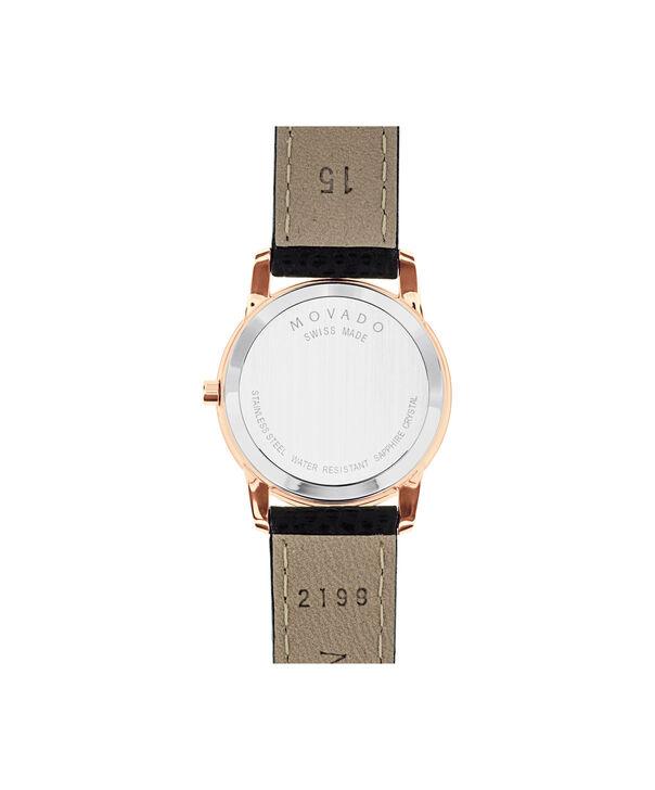 MOVADO Museum Classic0607061 – Montre à bracelet-jonc de 28 mm pour femmes - Back view