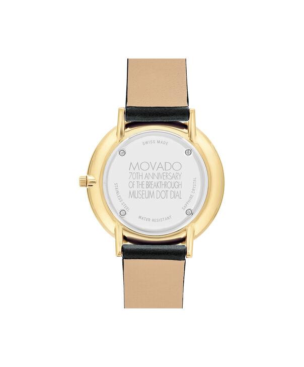 MOVADO 70th Anniversary0607137 – Montre à bracelet souple avec cadran en de 35 mm - Back view