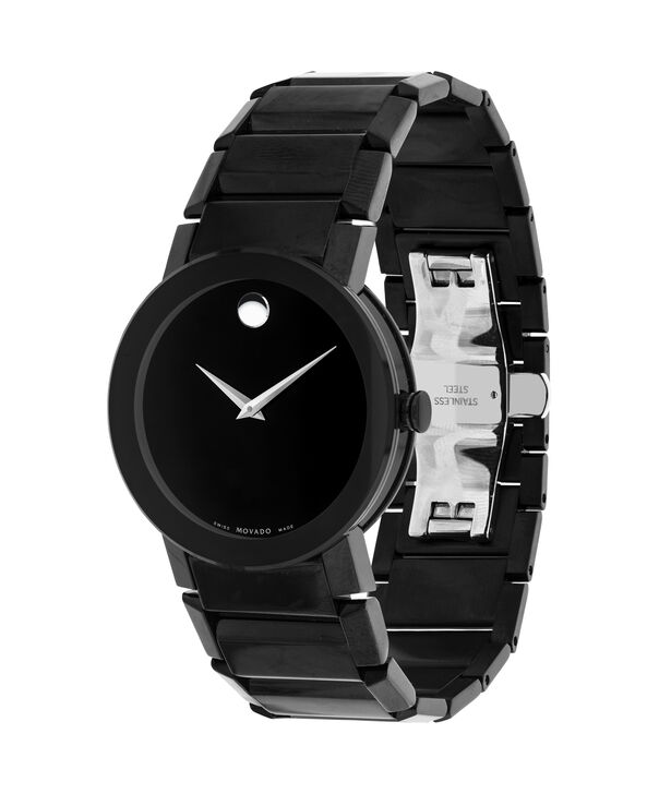 MOVADO Sapphire0606307 – Montre-bracelet à cadran de 38 mm pour hommes - Side view