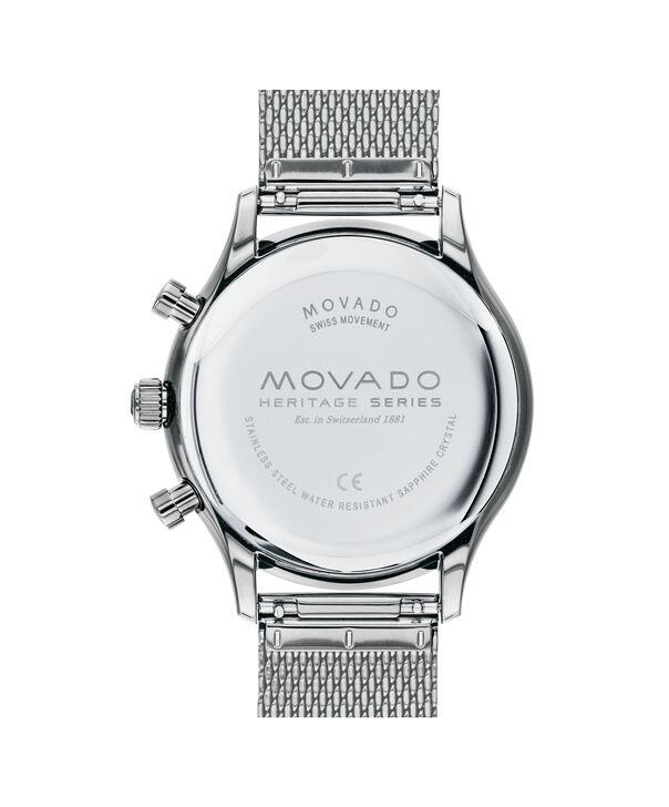 MOVADO Movado Heritage Series3650097 – Chrono Heritage Calendoplan 43mm - Back view