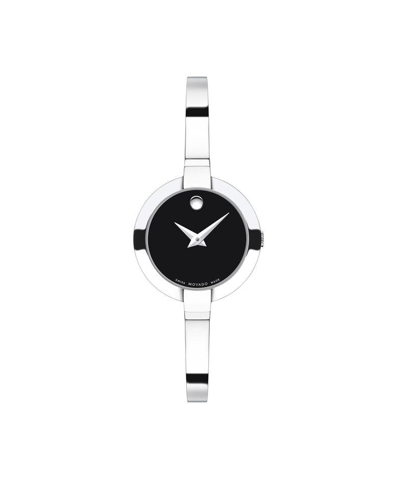 MOVADO Bela0606595 – Montre à bracelet-jonc de 25 mm pour femmes - Front view