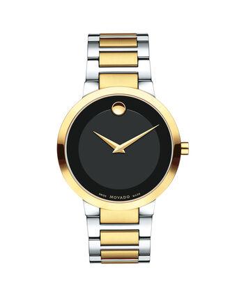 MOVADO Modern Classic0607120 – Montre-bracelet à cadran de 39.5 mm pour hommes - Front view