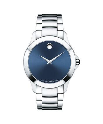 MOVADO Masino0607033 – Men's 40 mm bracelet watch - Front view