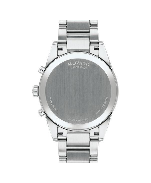 MOVADO Stratus0607247 – Men's 42 mm bracelet chronograph - Back view