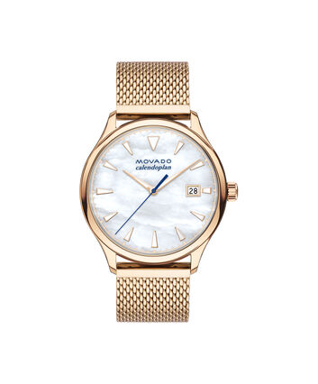 MOVADO Movado Heritage Series3650090 – Heritage Calendoplan 3a 36mm - Front view