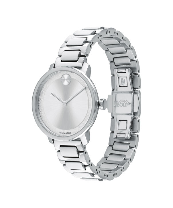 MOVADO Movado BOLD3600501 – Montre de 34 mm avec bracelet en métal - Side view