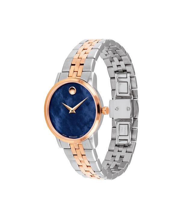 MOVADO Museum Classic0607268 – Women's 28 mm bracelet watch - Side view