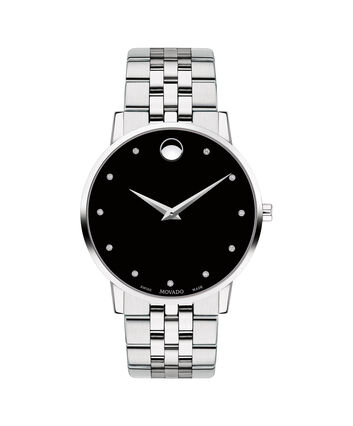 MOVADO Museum Classic0607201 – Men's 40 mm bracelet watch - Front view