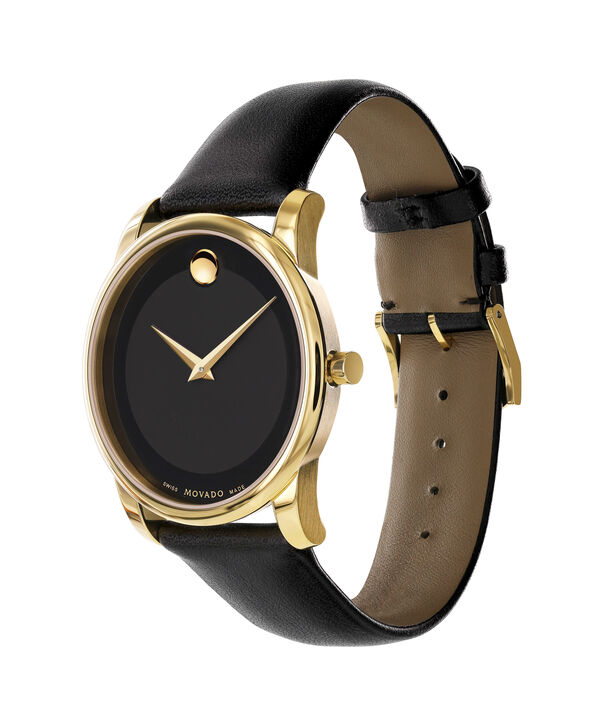 MOVADO Museum Classic0606876 – Men's 40 mm strap watch - Side view