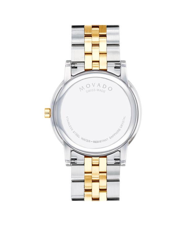 MOVADO Museum Classic0607200 – Montre-bracelet à cadran de 40 mm pour hommes - Back view