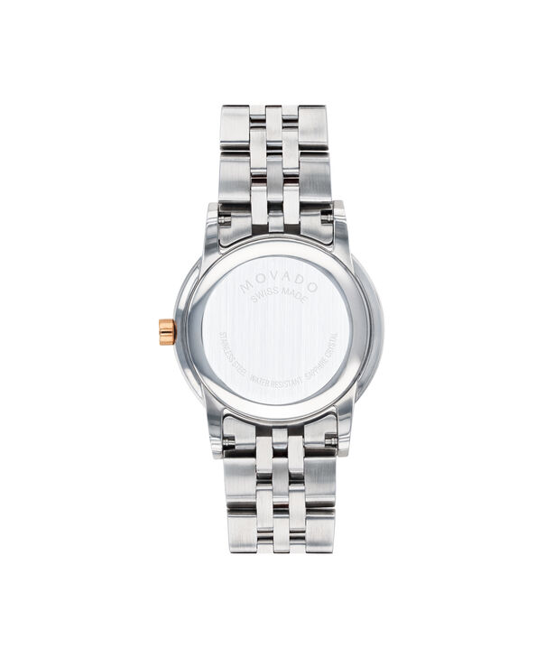 MOVADO Museum Classic0607209 – Women's 28 mm bracelet watch - Back view
