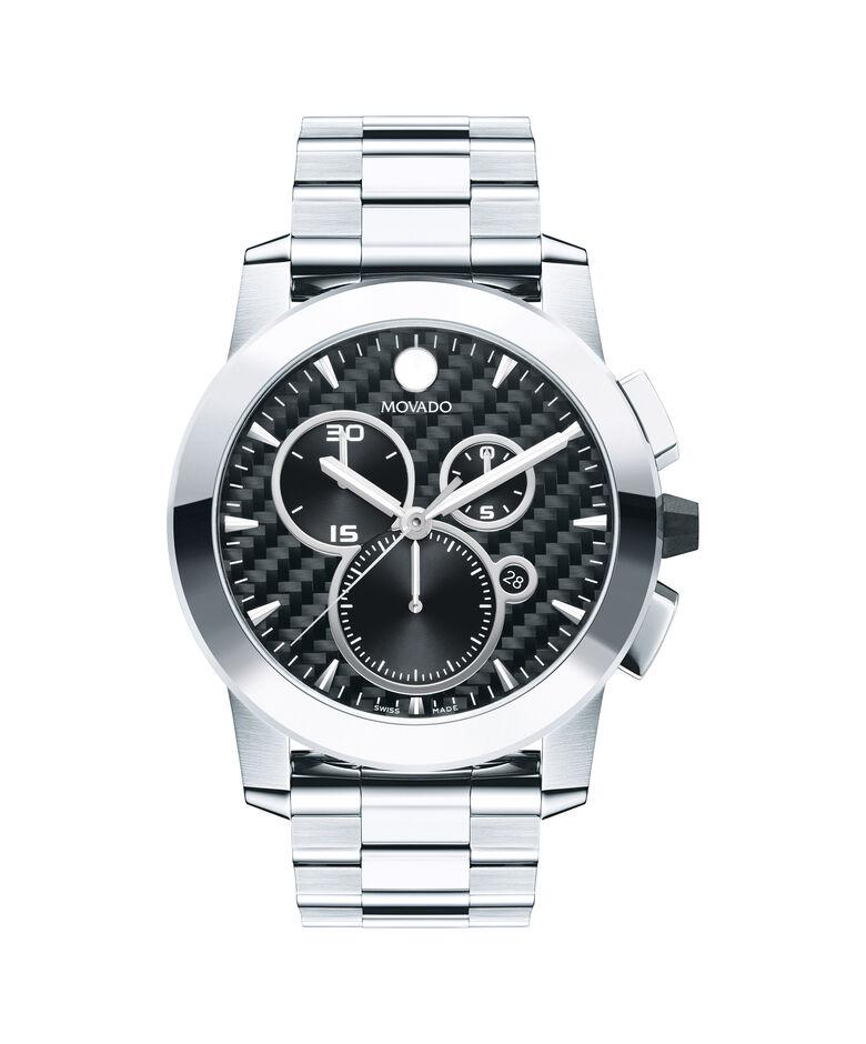 MOVADO Vizio0606551 – Men's 44.5 mm bracelet chrono - Front view
