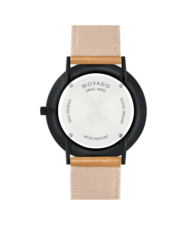 MOVADO Movado Ultra Slim0607378 – Movado Ultra Slim 40mm Leather Strap - Back view