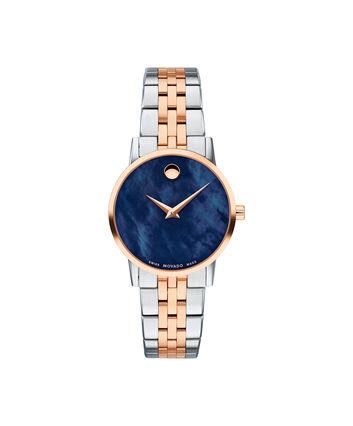 MOVADO Museum Classic0607268 – Montre-bracelet à cadran de 28 mm pour femmes - Front view