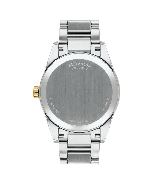 MOVADO Stratus0607245 – Men's 40 mm bracelet watch - Back view