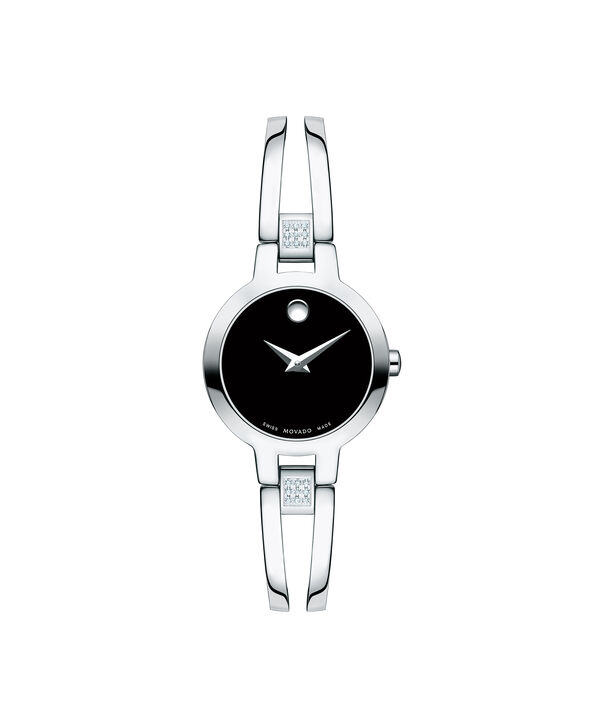 MOVADO Amorosa0607154 – Montre à bracelet-jonc de 24 mm pour femmes - Front view