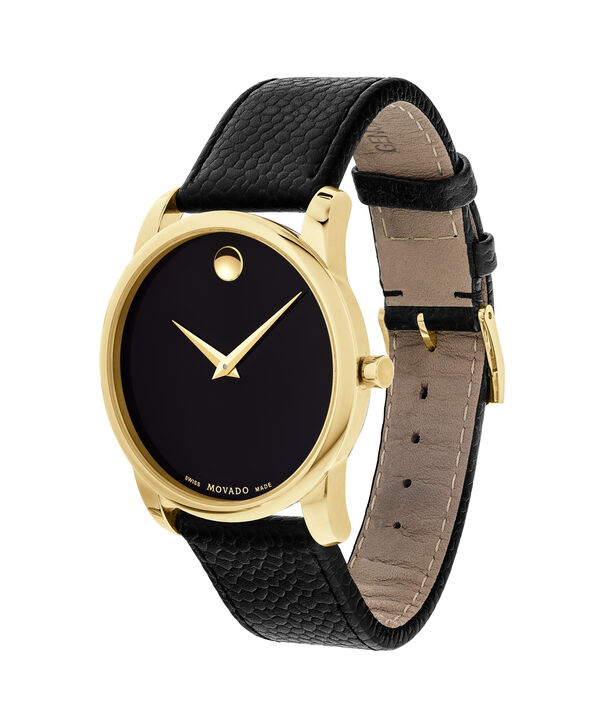 MOVADO Museum Classic0607014 – Men's 40 mm strap watch - Side view
