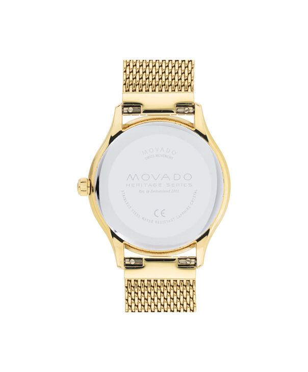 MOVADO Movado Heritage Series3650089 – 43mm Heritage Calendoplan Bracelet - Back view