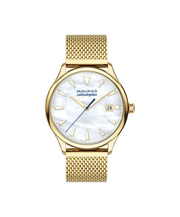 MOVADO Movado Heritage Series3650089 – Calendoplan Heritage 43 mm avec bracelet - Front view