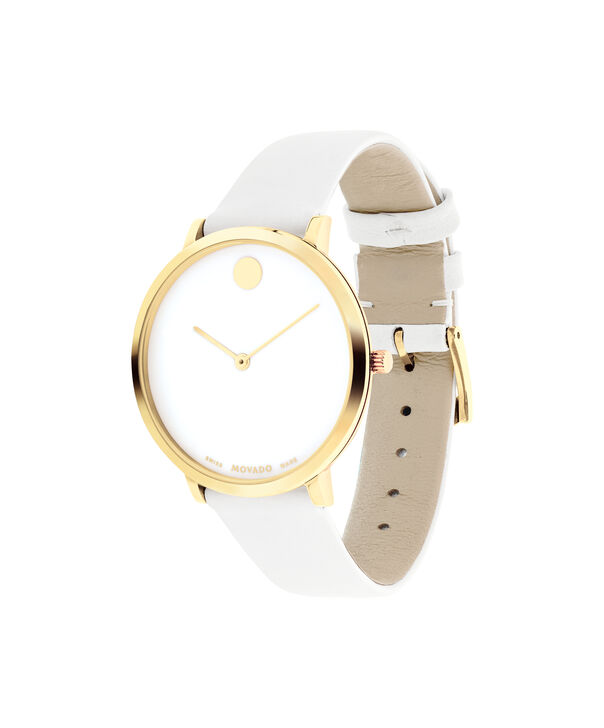 MOVADO 70th Anniversary0607138 – Mid-Size 35 mm strap watch - Side view