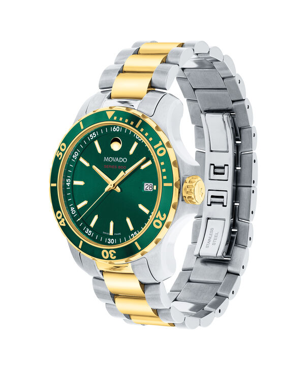 MOVADO Series 8002600147 – Montre-bracelet à cadran de 40 mm pour hommes - Side view