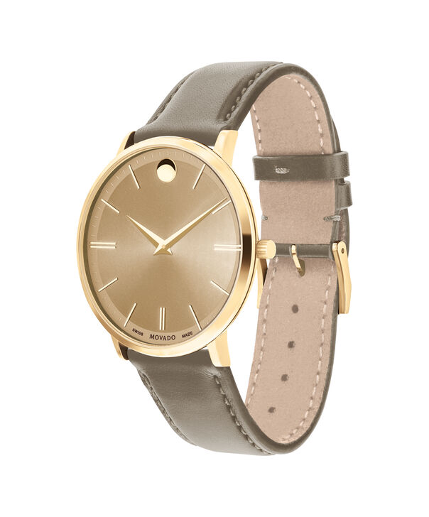 MOVADO Movado Ultra Slim0607375 – Ultra Slim 40 mm sur bracelet souple - Side view