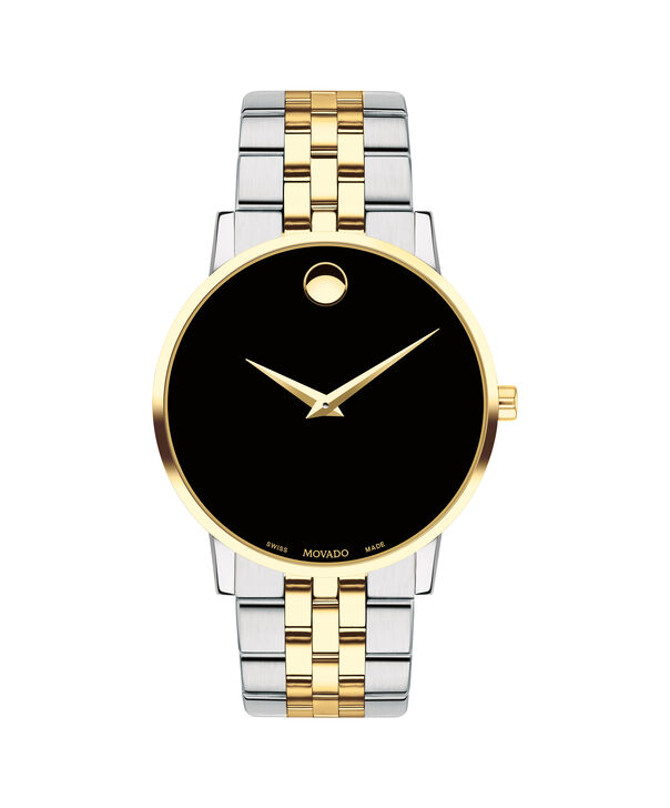 Movado   Museum Classic Men's Two-Toned Bracelet Watch